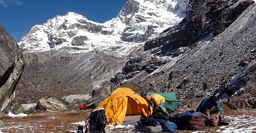 Makalu and Sherpani Col