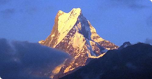 Mount Annapurna & Dhaulagiri