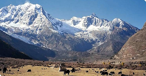 Manaslu and Rupina La