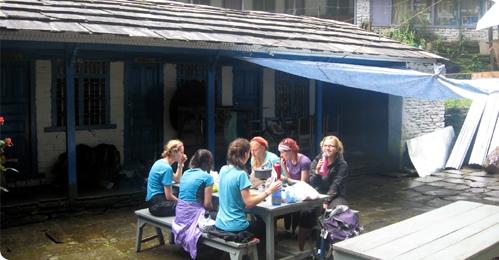 Annapurna Sanctuary and base camp